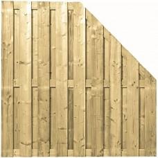 Tuinscherm geïmpregneerd vuren 90/180x180 cm 103283