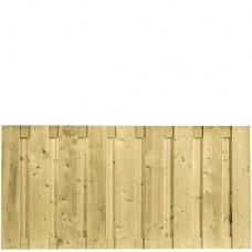 Tuinscherm geïmpregneerd vuren 90x180 cm 103289