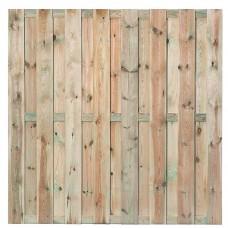 Tuinscherm Uden geïmpregneerd grenen 180x180 cm