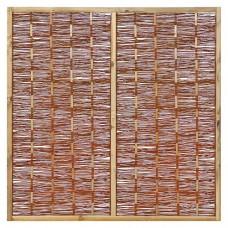 Tuinscherm wilgenteen 180x180 cm