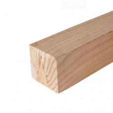 Tuinpaal douglas ongeschaafd 10x10x300 cm 103105