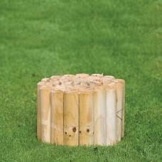 Houten border geïmpregneerd grenen 20x250 cm