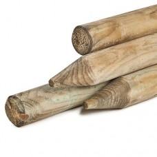 Ronde palissade geïmpregneerd grenen rond 6 cm 60 cm