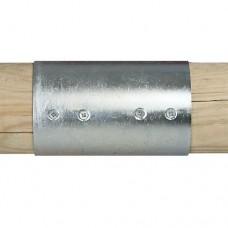 Gegalvaniseerde verbindingsstukken set 2-weg 10 cm
