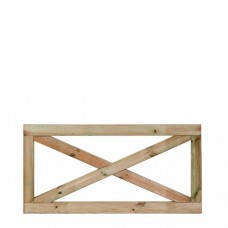 Boerenland hek Grenen 75x150 cm 103326
