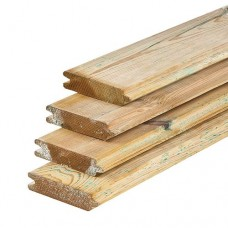 Blokhutprofiel geïmpregneerd grenen 2,8x12,7 cm