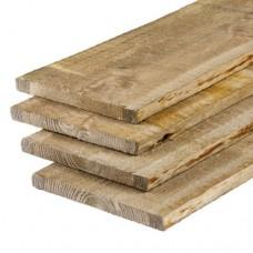 Schaaldeel geïmpregneerd grenen 1,8x20-25x360 cm