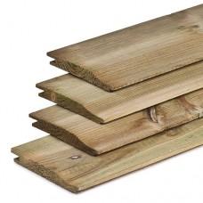 Rabatplank geïmpregneerd grenen 1,7x14x300 cm