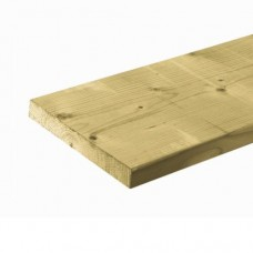 Schuttingplank geïmpregneerd vuren 2,8x19,5 cm