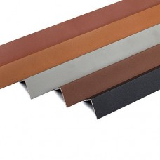 Aluminium hoekprofiel antraciet 3,8x3,8x220 cm