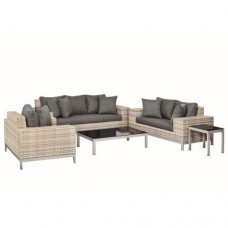 Wicker loungeset luxe Nashville