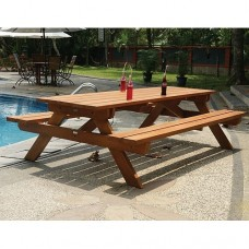 Picknicktafel hardhout Giant