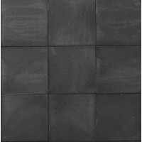 Betontegel 50x50x4 cm zwart zonder facet