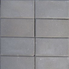 Betontegel 15x30x4,5 cm grijs