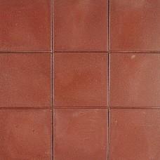 Betontegel 30x30x4,5 cm rood