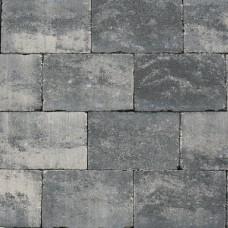 Abbeystones 20x30x6 cm grijs zwart