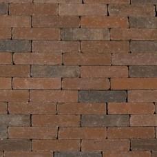 Waalformaat getrommeld 20x5x7 cm gesmoord bruin
