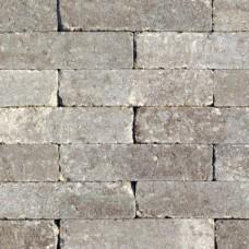 Waalformaat getrommeld 20x5x7 cm grigio