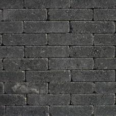 Waalformaat getrommeld 20x5x7 cm nero