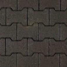 H-profielsteen 8 cm antraciet