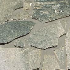 Flagstones 20-35 mm kwartsiet kavala grijs