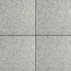 President 50x50x3 cm gevlamd en geborsteld grey