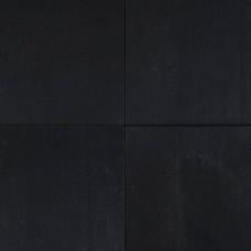 Straksteen 60x60x4 cm zwart