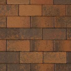 Betonklinker 21x10,5x6 cm terborgbrons met deklaag