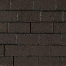 Betonklinker 21x10,5x6 cm antraciet met deklaag