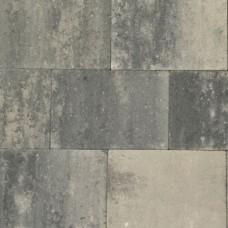 Opritstone 20x30x6 cm grijs zwart AANBIEDING
