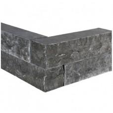 Asian bluestone muursteen hoekstuk 50x12x12 cm
