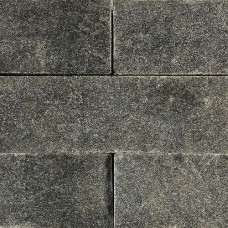 Graniet dark grey muursteen 30x12x12 cm