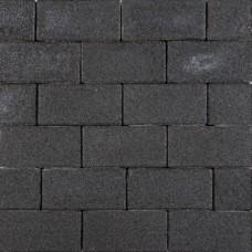 Klinkerkei strak 10,5x21x8 cm zwart