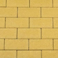 Betonklinker nature color 21x10,5x8 cm yellow