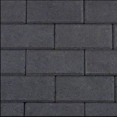Halve betonklinker 10,5x10,5x8 cm antraciet