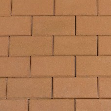 Halve betonklinker 10,5x10,5x8 cm gasselterbruin