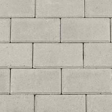 Halve betonklinker 10,5x10,5x8 cm grijs