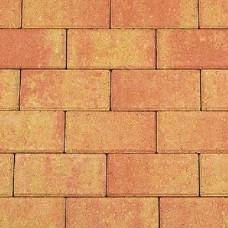 Betonklinker 21x10,5x6 cm terracotta geel