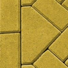 Bisschopsmuts 8 cm geel