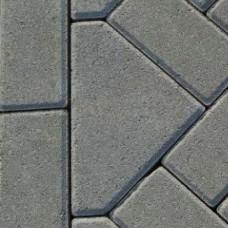 Bisschopsmuts 8 cm grijs