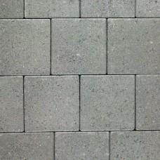 Dubbelklinker 21x21x8 cm grijs