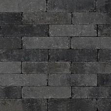Trommel dikformaat 21x6,8x6 cm grijs zwart