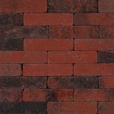 Trommel dikformaat 21x6,8x6 cm rood zwart