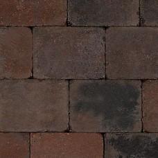 Trommelsteen 20x30x6 cm bruin zwart