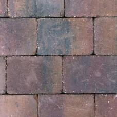 Trommelsteen 20x30x6 cm paars gv