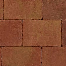 Trommelsteen 20x30x6 cm terracotta geel