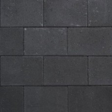 Design square 30x20x6 cm black emotion