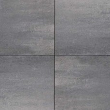 Design square 60x60x4 cm nero grey