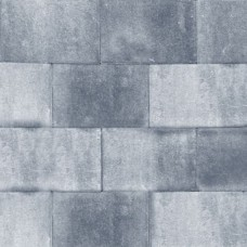 Design square 30x20x6 cm nero grey emotion