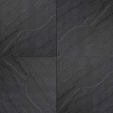 H2O excellent relief square 60x60x5 cm black emotion
